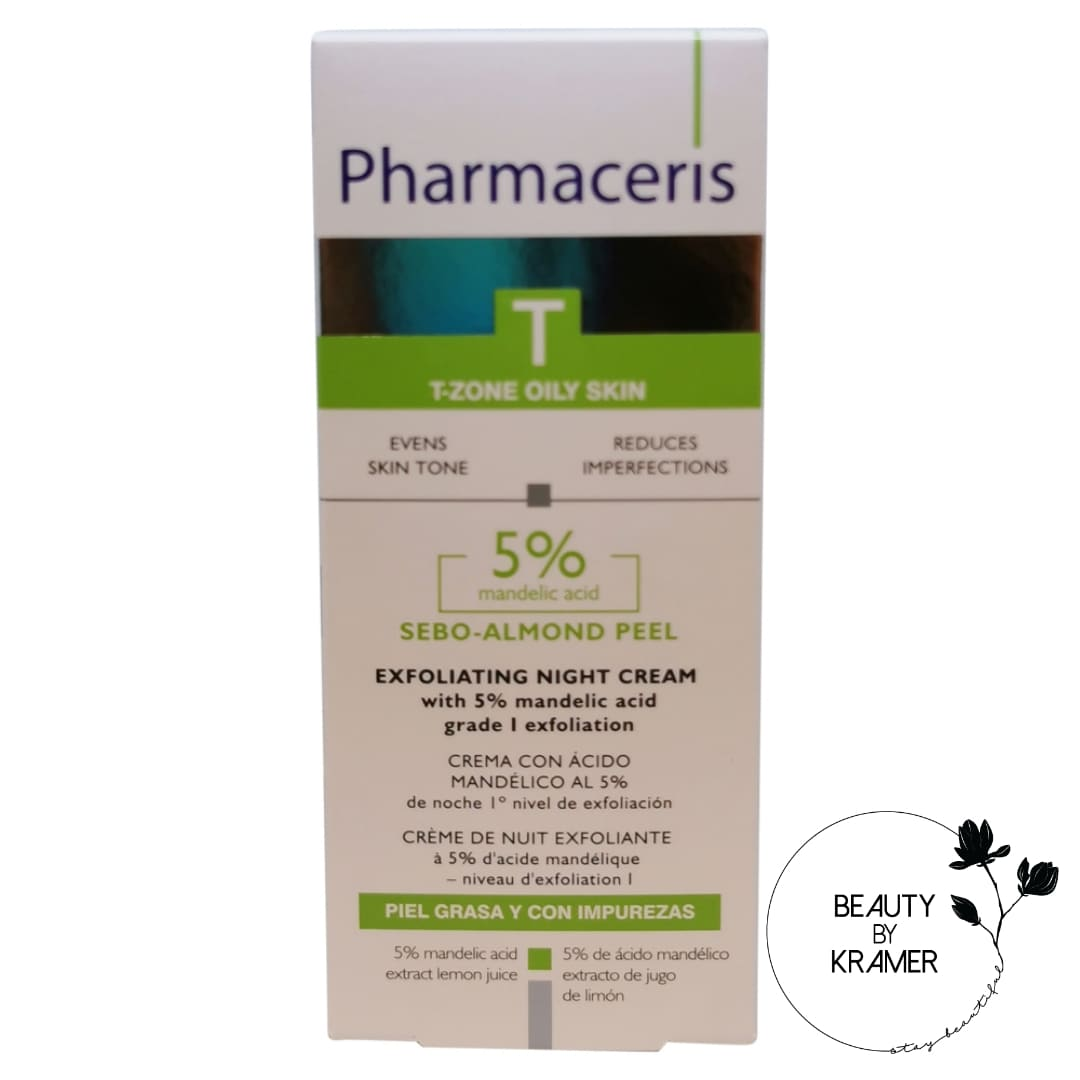 Pharmaceris antiakne eksfolierende natcreme