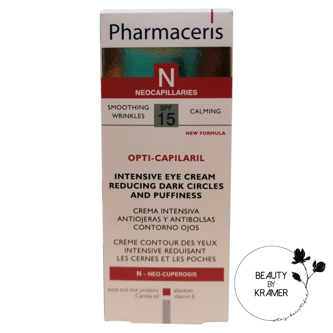 Pharmaceris øjencreme reducerer mørke rander